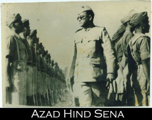 Troops of Azad Hind Fauj