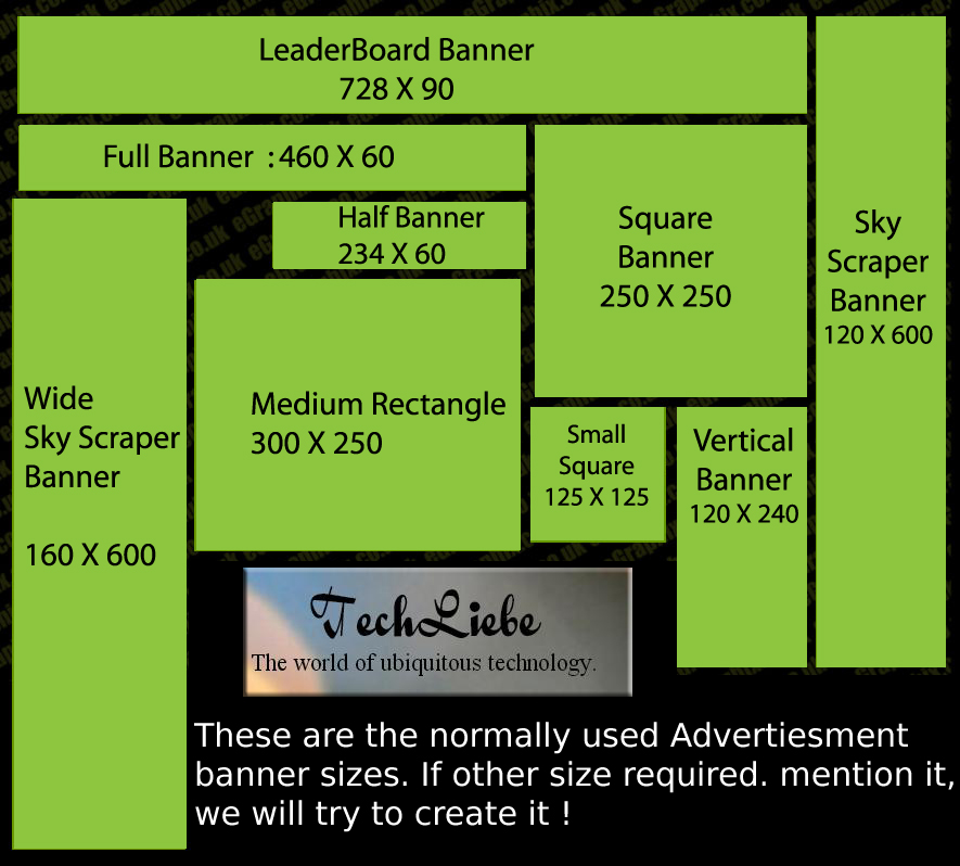TechLiebe Ad Banners