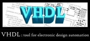 VHDL : a programming tool
