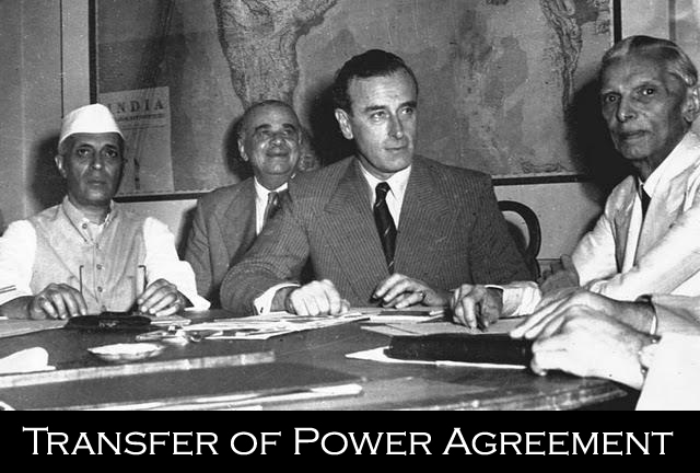 Transfer of power agreement
