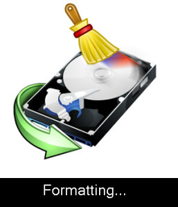 PC Disk Formatting