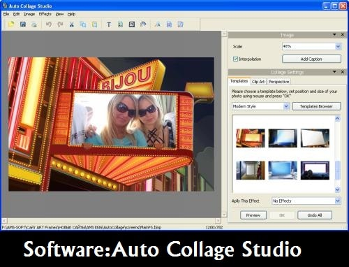 Software: Auto Collage Software
