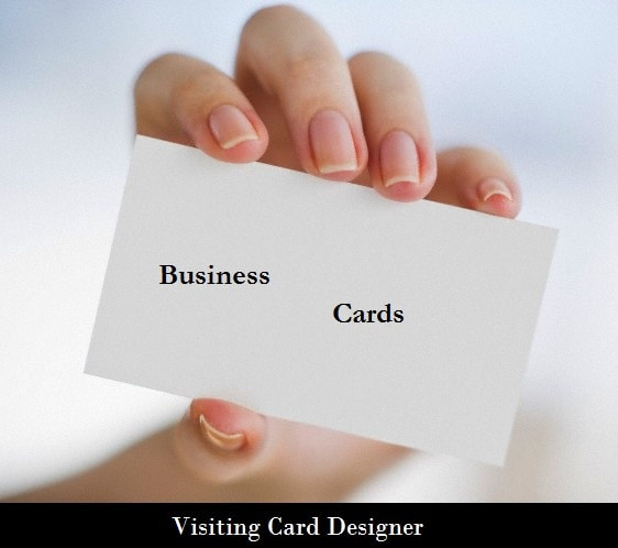 Visiting Card Designer