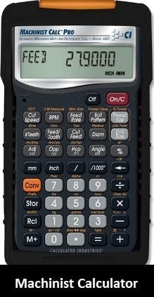 Equipement: Machinist Calculator
