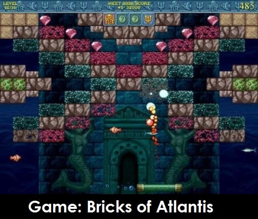 Game: Bricks of Atlantis