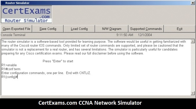 ccna network simulator