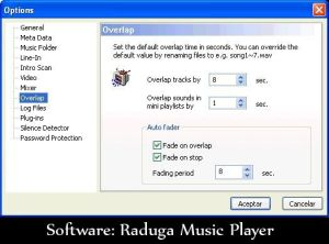Software: raduga music player