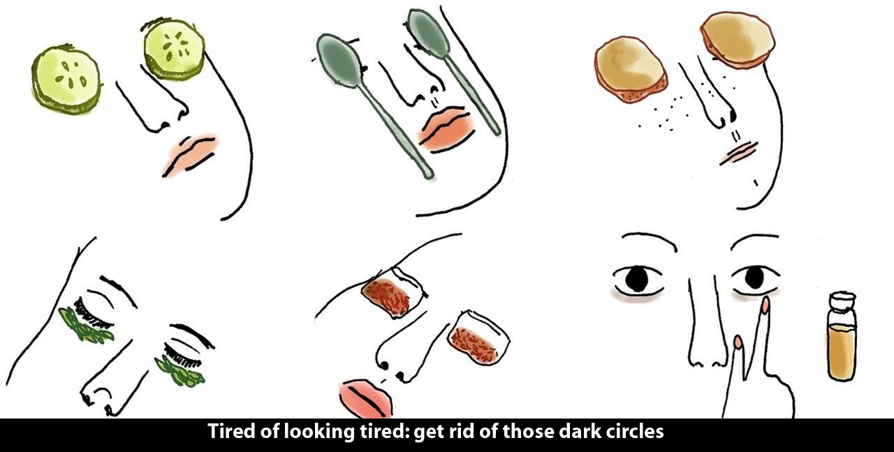 Tired of looking tired: get rid of those dark circles