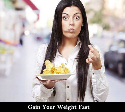 Gain Weight, Maintain Health