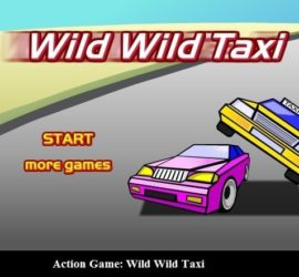 Action Game: Wild Wild Taxi